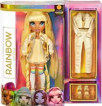 Кукла Рейнбоу Хай Санни Медисон Желтая Rainbow Surprise Rainbow High Sunny Madison Yellow