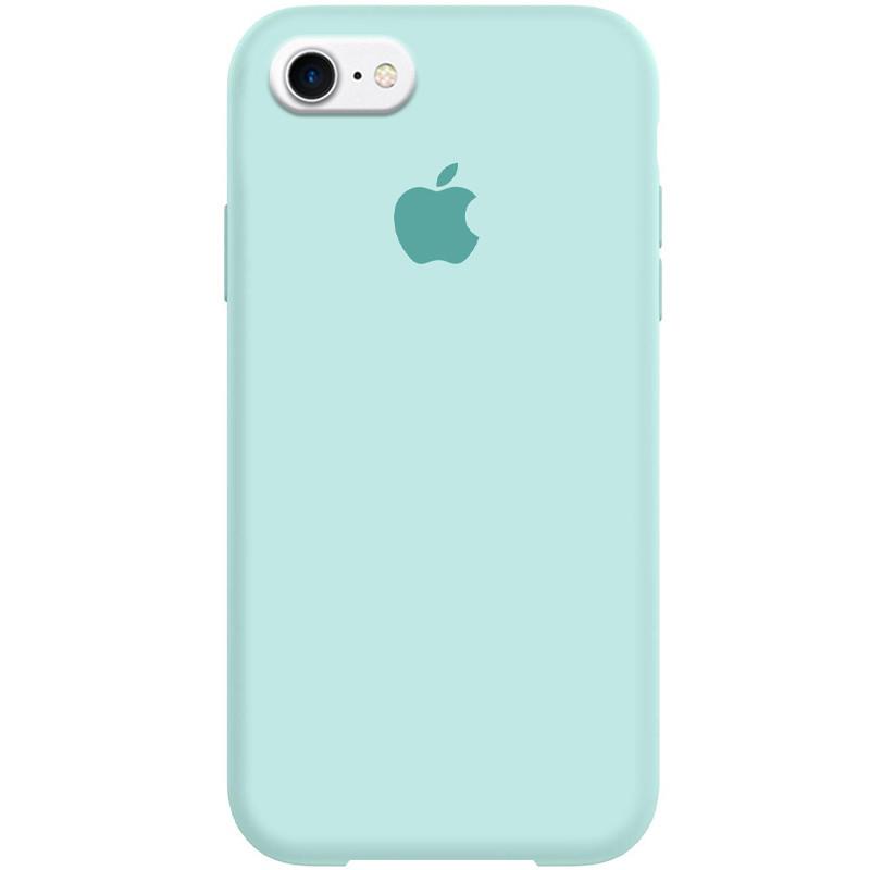 "Чехол Silicone Case Full Protective (AA) для Apple iPhone 7 / 8 / SE (2020) (4.7"") Бирюзовый / Turq"
