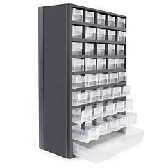 Органайзер Вертикальний(Касетний)Настінний 310х138х490 мм з Висувними Скриньками Для(Дрібниць)Металовиробів INTERTOOL