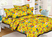 Комплект детского постельного белья Три кота, ранфорс, подростковый, полуторный