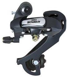 Переключатель велосипедный задний SUNRUN RD-HG26A Болт 6-7 скоростей