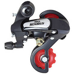 Переключатель велосипедный задний SUNRUN RD-HG17A Болт 5-6-7 скоростей, короткая лапка