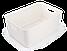 Ящик для хранения MVM FH-13 WHITE XL пластиковый белый, фото 2