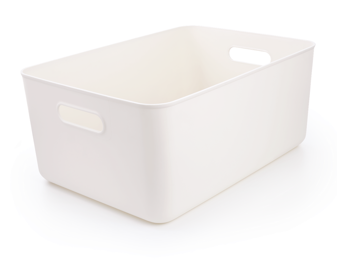 Ящик для хранения MVM FH-13 WHITE XL пластиковый белый