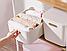 Ящик для хранения MVM FH-13 WHITE XL пластиковый белый, фото 5