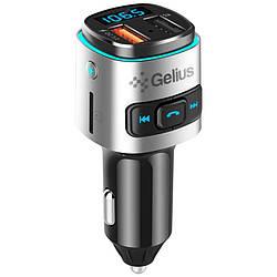 MP3 FM-модулятор Gelius Pro RGB-QC GP-FMT040 Black/Silver