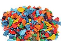 Декоративные камни микс-радуга 0.5 кг (ручная фасовка)