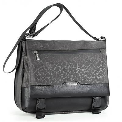 Женская молодежная сумка из прочной ткани Dolly 640 серый
