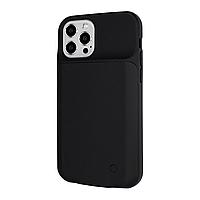 Чехол power bank / повербанк / поверкейс Battery Case для iPhone 12 Pro Max 4500 mAh черный