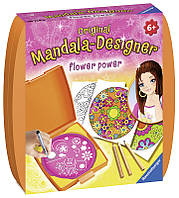 Набор для творчества Мини Мандала Сила цветов 2 Ravensburger 29753