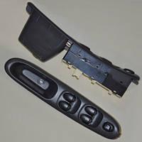 Блок кнопок стеклоподъемников оригинальных ZAZ Lanos T150, ZAZ Sens на 5 клавиш (4 стекла)