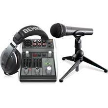 Комплект для звукозапису Behringer PODCASTUDIO USB 2