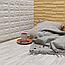 Пол пазл - модульное напольное покрытие 600x600x10мм белое дерево, фото 2