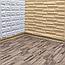 Підлогу пазл - модульне підлогове покриття 600х600х10мм коричневе дерево, фото 2
