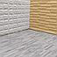 Підлогу пазл - модульне підлогове покриття 600х600х10мм сіре дерево, фото 3