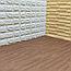 Підлогу пазл - модульне підлогове покриття 600х600х10мм темне дерево, фото 4