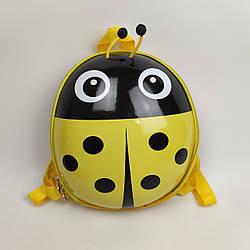 Дитячий рюкзак для малюків Жовтий Божа корівка