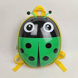 Рюкзак для малюка Зелений Божа корівка