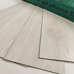 Самоклеюча вінілова плитка молочне дерево, ціна за 1 шт. (мін. замовлення 15 штук)