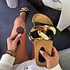 Шльопанці жіночі літні з ланцюгом на коркові підошві білі, фото 8