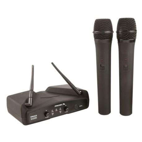 Радіосистема / мікрофони Proel WM202DM UHF