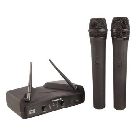 Радіосистема / мікрофони Proel WM202DM UHF, фото 2