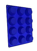 Форма силіконова для випічки кексів 12 шт класичний
