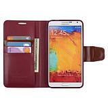 Чохол-книжка Mercury Goospery Sonata Diary Case для Samsung Galaxy Note 3 Neo N750 7505, фото 3