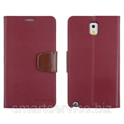 Чохол-книжка Mercury Goospery Sonata Diary Case для Samsung Galaxy Note 3 Neo N750 7505