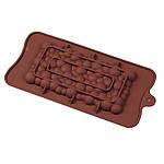 Форма силиконовая для конфет Шоколадка Новая Пузыри