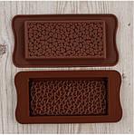 Форма силиконовая для конфет Шоколадка Сердечки