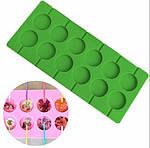 Форма силиконовая для леденцов Lolli Pop из 12 шт 3,5 см