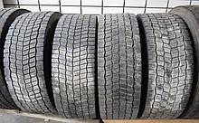 Грузовые шины б/у 315/70 R22.5 Michelin X MultiWay 3D, 4 шт.
