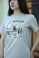 Женская футболка с принтом футболка женская Vlad&K