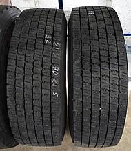 Грузовые шины б/у 315/70 R22.5 Bridgestone M729, пара