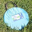 Пляжна підстилка автоматична намет для кемпінгу і пляжу 150*110*110 швидке відкриття уф захист, фото 5