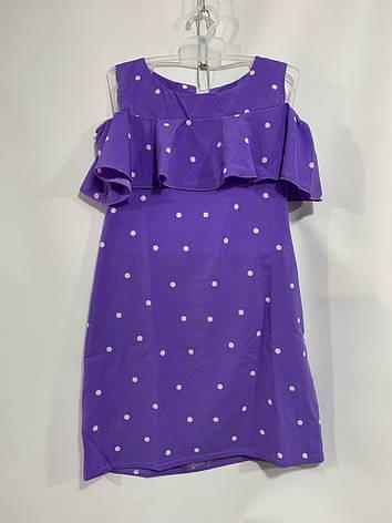 Детское летнее платье для девочки р. 5-8 лет, фото 2
