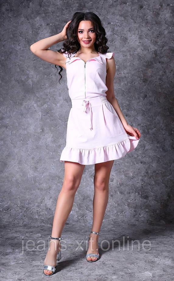 Сукня Жін. 38(р) пудра 8712 Poliit Україна Літо-C