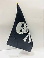 Піратський Прапор з Черепом 19*33 см в Упаковці 10 шт