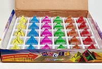 Прикол Игрушка Пирамида Растущая в Воде в Упаковке 24 шт, фото 1