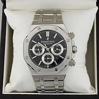 Часы Audemars Piguet Royal Oak Tourbillion 42mm (Механика ETA) Silver/Black. Реплика: AAA