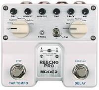 Mooer Reecho Pro двойная педаль для гитары эффект дилей