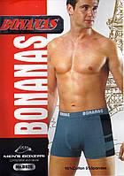 Мужские трусы боксеры х/б BONANAS B928 ТМБ-18261