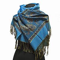 Женский шарф-палантин Голубой