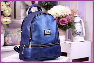 Рюкзак міський жіночий кожзам-оригінальний, Жіночий рюкзак на спину, Стильний жіночий рюкзак для міста