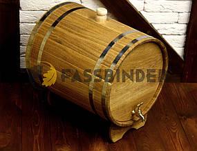 Дубовий жбан (бочка) для алкоголю Fassbinder™ 40 літрів
