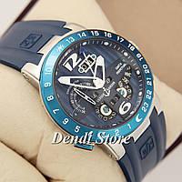 Часы Ulysse Nardin Perpetual Calendars El Toro GMT Perpetual Blue-Silver-Blue-1023-0063