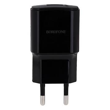 Сетевая зарядка Borofone BA48A 2.1A адаптер 1 USB Черный