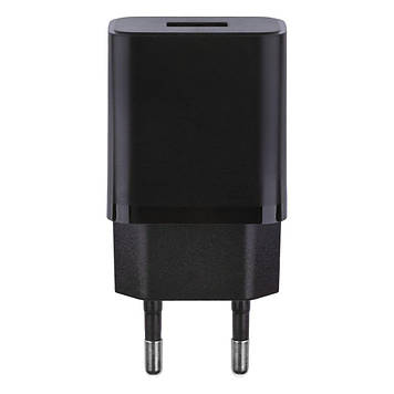 Сетевая зарядка Borofone BA52A 2.1A адаптер 1 USB + кабель Micro USB Черный