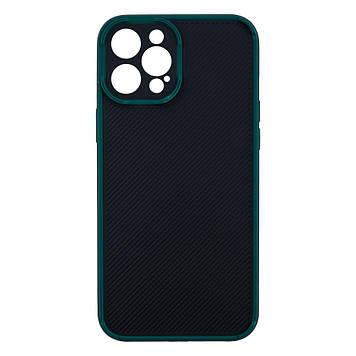 Чехол Magic Eye для Apple iPhone 12 Pro Max Черно-Зелёный